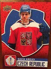 2016 UD World Cup Of Hockey David Krejci WCH-6