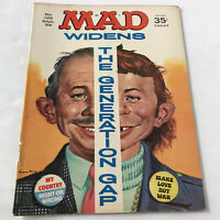 Vintage Mad Magazine-Sept.1969- Alfred E. Neuman Widens Generation Gap