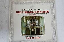Karl Richter Argento uomo-Orgel Arles casa Bach le 6 Orgel concerti (lp12)