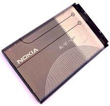 Genuino Original Nokia BL5C BL-5C Batería 1020mAh para NOKIA 1100 1600 2300 6230