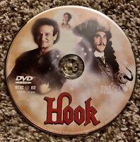 Hook DVD. Robin Williams. Julia Roberts.