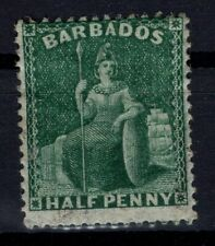 P133353/ BRITISH BARBADOS – SG # 65 MINT MH SIGNED
