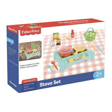 NEW FISHER-PRICE TOY STOVE SET- 1822