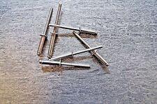 6,4 X 30,0 mm 250 Stk Stahl Flachkopf Blindnieten Dichtnieten Niete Aluminium