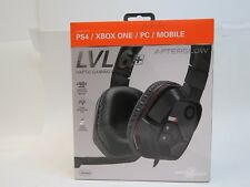 PDP Afterglow LVL 6+ Over-Ear Gaming Headset for Multi-Platform - Black