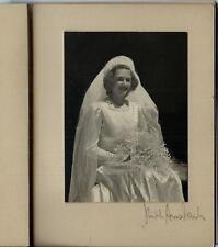 1930s Bride Minature Photo Album Buffalo NY / Rinth Ansbach Photographer