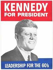 KENNEDY FOR PRESIDENT Movie POSTER 27x40 B John F. Kennedy