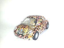 Kinsmart VW Beetle, Leopard, Pull Back Let Go, Die Cast 1:32