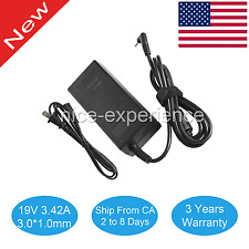 For Acer Chromebook 11 CB3-111 White Laptop Ac Adapter Charger & Cord