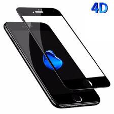 COMPLETO CURVO 4D Vetro Temperato Protezione Schermo Flim Per Apple iPhone 7 Nero Plus