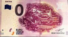 BILLET 0 EURO SINTRA PORTUGAL  2019-1  NUMERO DIVERS