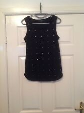 Ladies Black Top Size 10 From Next