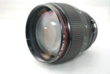 """Canon FD 85mm 1.2 L Perfect Portrait Lens """"Excellent""""  #3223"""