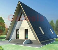 Plan House A-Frame