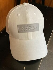 NEW TITLEIST MENS GOLF HAT GRAY WHITE WASH Color Small/Medium