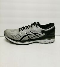 Asics Gel Kayano 24 Men's Cross Training Running Shoes Size 12 M(D) Silver/Black