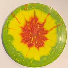Custom Rasta Dyed Latitude 64 Gold Line Pioneer Fairway Driver Disc Golf Disc