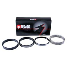 "Sealed Power R1070435 SBC Chevy 400 Plasma Moly Piston Rings 4.185"" Small Block"
