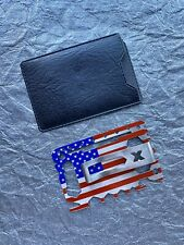 American FLAG - Minimalistic Wallet Card Holder Money Clip Multi tool Kit EDC