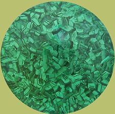 "12"" GREEN MARBLE DINING COFFEE CENTER MALACHITE TABLE TOP MOSAIC INLAY WORKS"