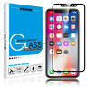 For iPhone X  Full Coverage Tempered Glass Screen Protector HD Cover Film