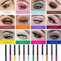 12 Color Waterproof Eye Brow Eyeliner Liquid Eyebrow Pen Pencil Makeup Cosmetic