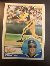 1983 Topps Kent Tekulve Pittsburgh Pirates 17
