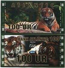 ATLANTIC TIGER 100 UR 2016 MALAYAN UNC