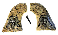 Fits Heritage Arms Rough Rider GRIPS .22 & .22 MAG Warrior Chief Skull NEW