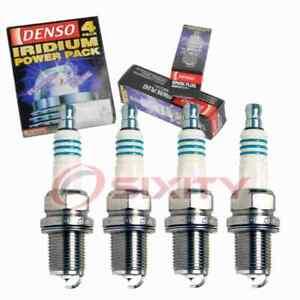 4 pc Denso Iridium Power Spark Plugs for 1994-1997 Honda Civic del Sol 1.6L hj