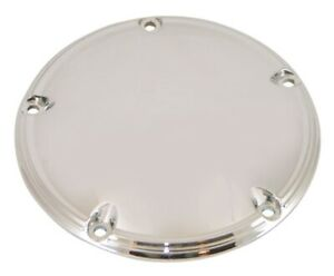 99-15 Harley Twin Cam Smooth Plain Chrome Primary Clutch Derby Cover 78162