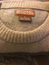 Michael Kors Men's Cashmere  Sweater, Size Large Preowned
