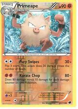 POKEMON BLACK AND WHITE PLASMA FREEZE - PRIMEAPE 60/116 REV HOLO