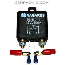 Trennrelais para coche car Relay de carga relés segundo batería dual Battery 12 V 100 a
