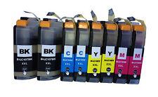 8PK LC107 LC105 XXL For Brother Ink Cartridge 2 Sets MFC-J4410DW J4510DW J4610DW