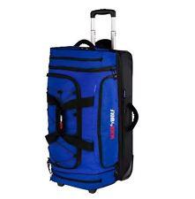 NEW BLACK WOLF BLADERUNNER 110 + 30 WHEELED DUFFLE BAG LOCKABLE ZIP TRAVEL BLUE