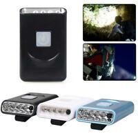 Rechargeable 5 LED Infrared Sensor Head Cap Hat Lamp Light USB Headlamp Torch BE