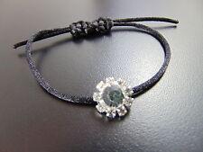 Versilberte Modeschmuck-Armbänder mit Strass-Perlen für Damen