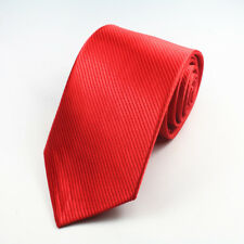 rouge fait à la main 100% CRAVATE EN SOIE