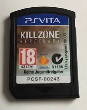 Killzone Mercenary game for PlayStation PS Vita (Cartridge only). FREE POSTAGE!