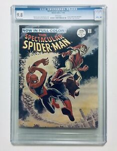 SPECTACULAR SPIDER-MAN Magazine #2, Nov. 1968, Highest Graded, CGC 9.8