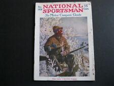 NATIONAL SPORTSMAN Magazine - Dec, 1926 - Hunting - Fishing