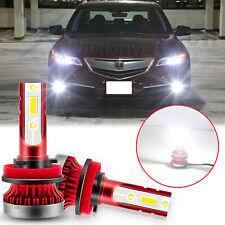 2x 6000K White H11 H8 LED Fog Light Bulb for Acura TSX TL ILX MDX RDX RL RSX ZDX