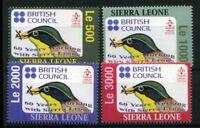 Sierra Leone MiNr. 4491-94 postfrisch MNH Vögel (Vög2010