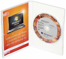 Microsoft Windows 7 Ultimate - 64 Bit - DEUTSCH - inkl. DVD (SB / OEM)