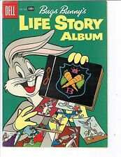 Bugs Bunny's Life Story Album 838 &  647  Dell Giant Comic VG  Warehouse 1957