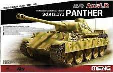 Meng Ausf.d Panther German Medium Tank Sd.kfz.171 1/35 Model Kit TS038