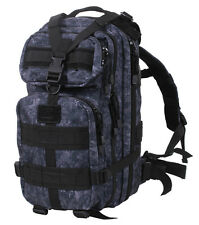 Medium Transport Tactical Military Hiking MIDNIGHT Digital Camo Pack Backpack