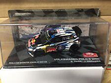 "DIE CAST "" VOLKSWGEN POLO R WRC S. OGIER - J. INGRASSIA 2016 "" RALLY  SCALA 1/43"