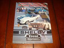 2005 SHELBY TRENT PERFORMANCE GT350SR GT500E - ORIGINAL AD